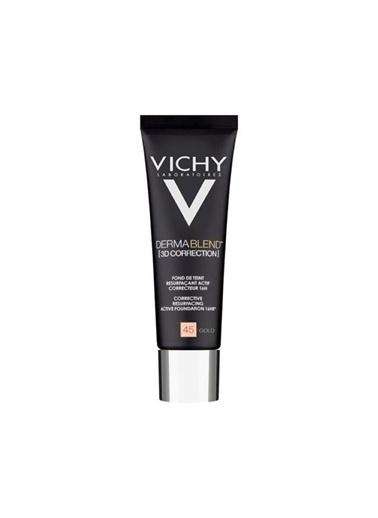Vichy Vichy Dermablend Karma,Yagli Ve Akneye Egilimli Ciltler İçin 3D Fondöten 45 Gold 30 Ml Ten